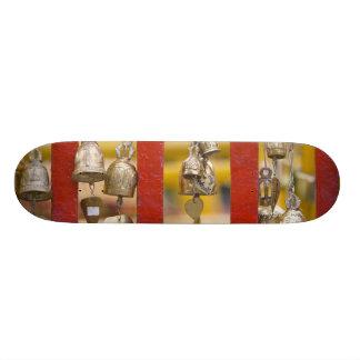 Buddhist Bells at Doi Suthep Temple 21.6 Cm Old School Skateboard Deck