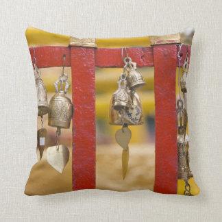 Buddhist Bells at Doi Suthep Temple Throw Pillow