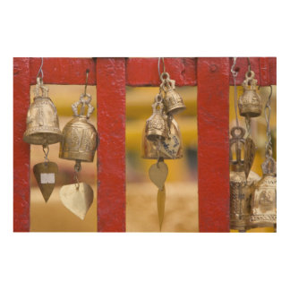Buddhist Bells at Doi Suthep Temple Wood Wall Art