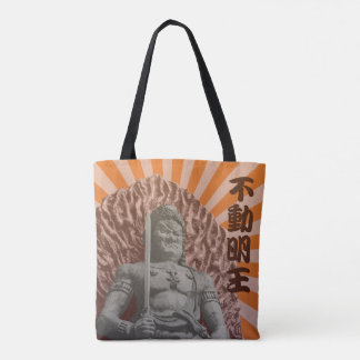 Buddhist Deity Fudo Myo-o Tote Bag