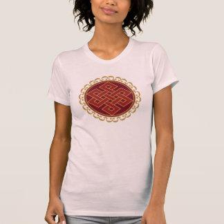Buddhist Endless or Eternal Knot Pattern T-Shirt