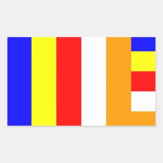 Buddhist Flag Sticker
