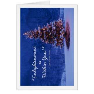 Buddhist Holiday Card - Enlightenment