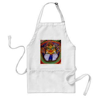 Buddhist image picture, temple standard apron
