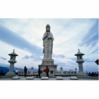 Buddhist image statue Naksansa temple Photo Sculptures