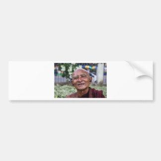 Buddhist Monk Bumper Sticker