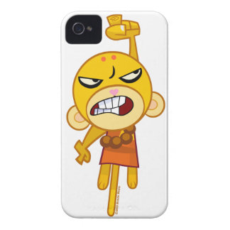 Buddhist Monkey Punch your iPhone iPhone 4 Case-Mate Case