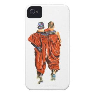 Buddhist monks iPhone 4 case