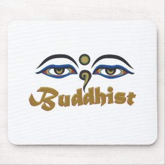 Buddhist Mouse Pad