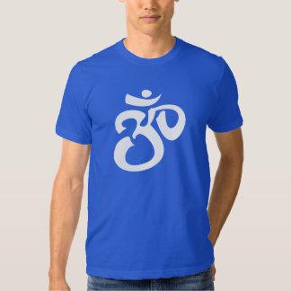 Buddhist & New Age Calligraphic Om Symbol Shirt