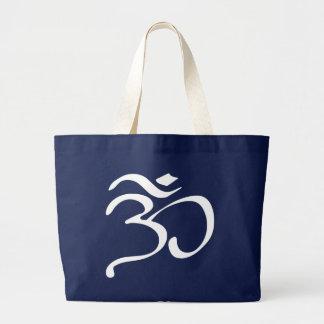 Buddhist Om (Aum) Symbol Tote Bag