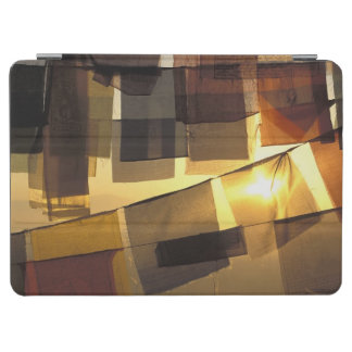 Buddhist prayer flags in the sunset, iPad air cover