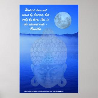 Blue Buddha Posters | Zazzle.co.uk