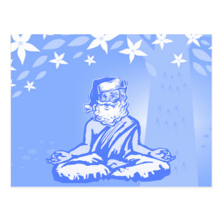 Buddhist Santa Christmas Card