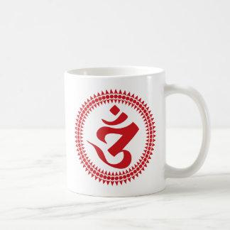 Buddhist Siddham Script Om Symbol Coffee Mug