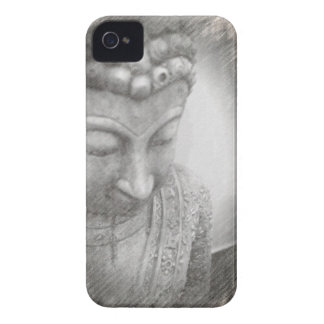 Buddhist Sketch iPhone 4 Case