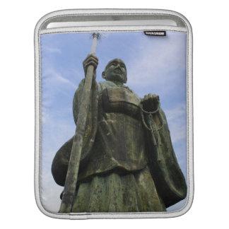 Buddhist Statue of Imayama Kobo Daishi iPad Sleeve