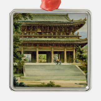 Buddhist temple at Kyoto, Japan Christmas Ornament