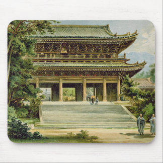 Buddhist temple at Kyoto, Japan Mouse Mat