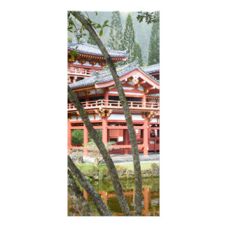 Buddhist Temple bookmark Full Colour Rack Card