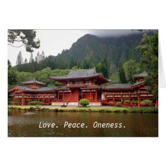 Buddhist Temple Card