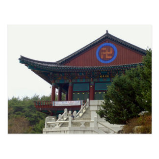 Buddhist  Temple Daegu, South Korea Postcard
