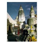 Buddhist Temple in Kathmandu, Nepal Postcards