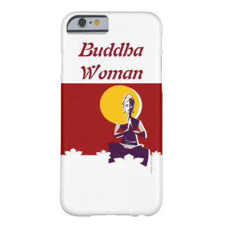 Buddhist woman, yoga posture barely there iPhone 6 case