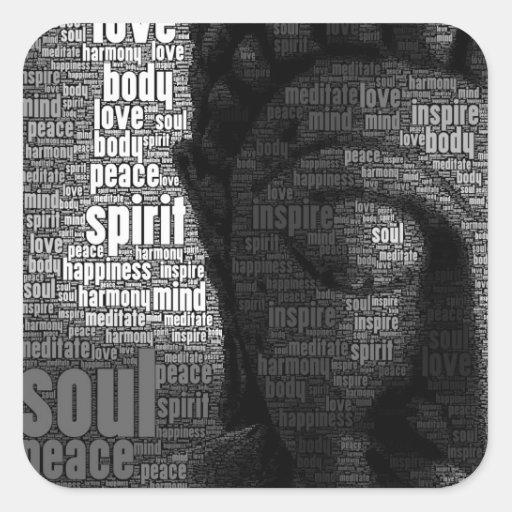 Buddhist Words of Wisdom Stickers