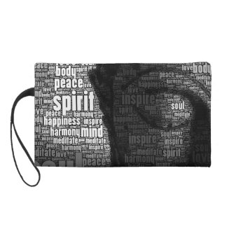 Buddhist Words of Wisdom Wristlet