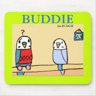 Buddie Finds Buddy Mousepad