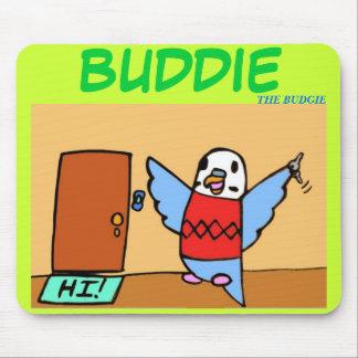 Buddie Goes Home Mousepad