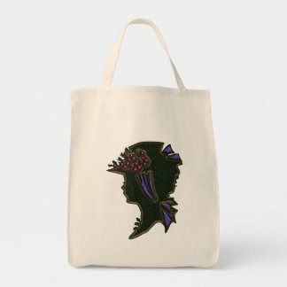 Budding Hat Organic Grocery Bag
