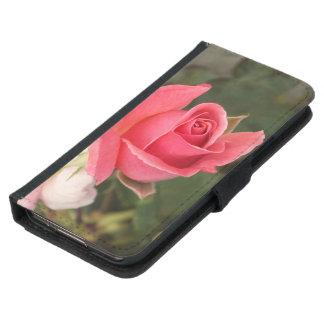 Budding Pink Rose Samsung Galaxy S5 Wallet Case