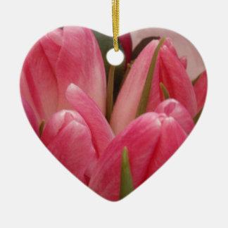 Budding Tulips Christmas Ornament
