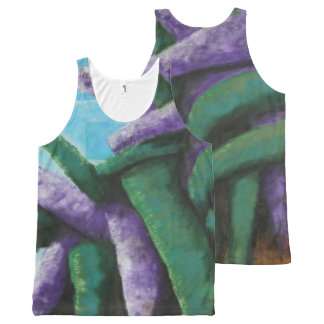 Buddleia Abstract Tank Top