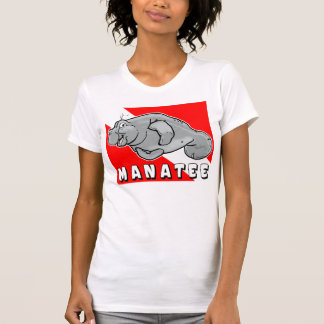 Buddy Manatee Diver Tee Shirts