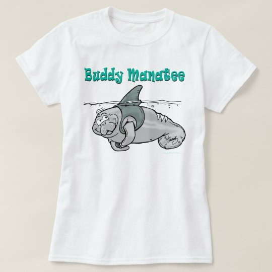 Buddy Manatee Shark T-Shirt