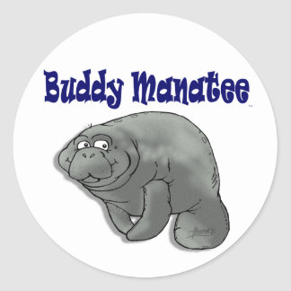 Buddy Manatee Sticker