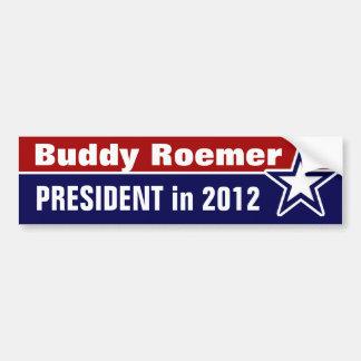 Buddy Roemer for President in 2012 Bumper Sticker