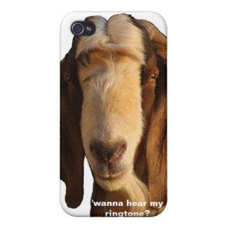 Buddy The Boer ('wanna hear my ringtone?) iPhone 4 Case
