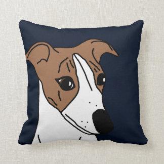 Buddy the Whippet Cushion
