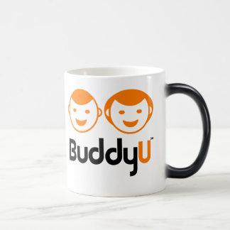 BuddyU Transforming Coffee Cup 11 Oz Magic Heat Color-Changing Coffee Mug