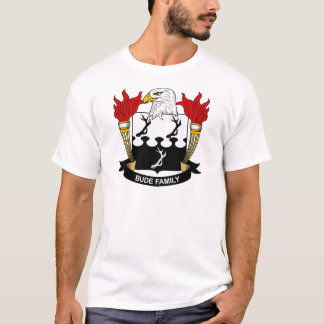 Bude Family Crest T-Shirt