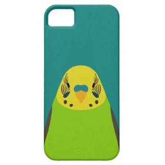 Budgerigar - bird illustration iPhone 5/5s case