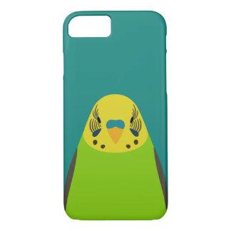 Budgerigar - bird illustration iPhone 7 case