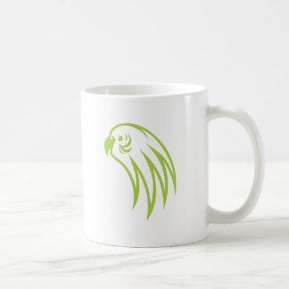 Budgerigar Bird Pondering Coffee Mugs