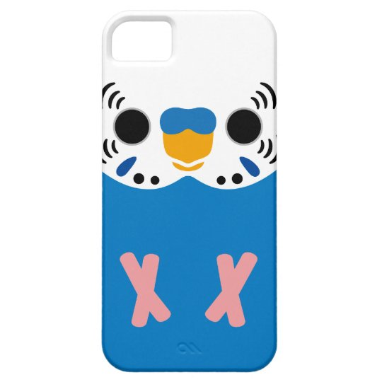 Budgerigar (Normal Cobalt Male) iPhone 5 Cases