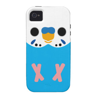Budgerigar Opaline Skyblue Male iPhone 4 Covers