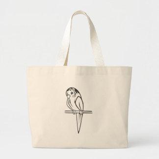 Budgerigar Parrot Bird Canvas Bag